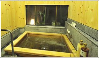 古代檜(ひのき)風呂